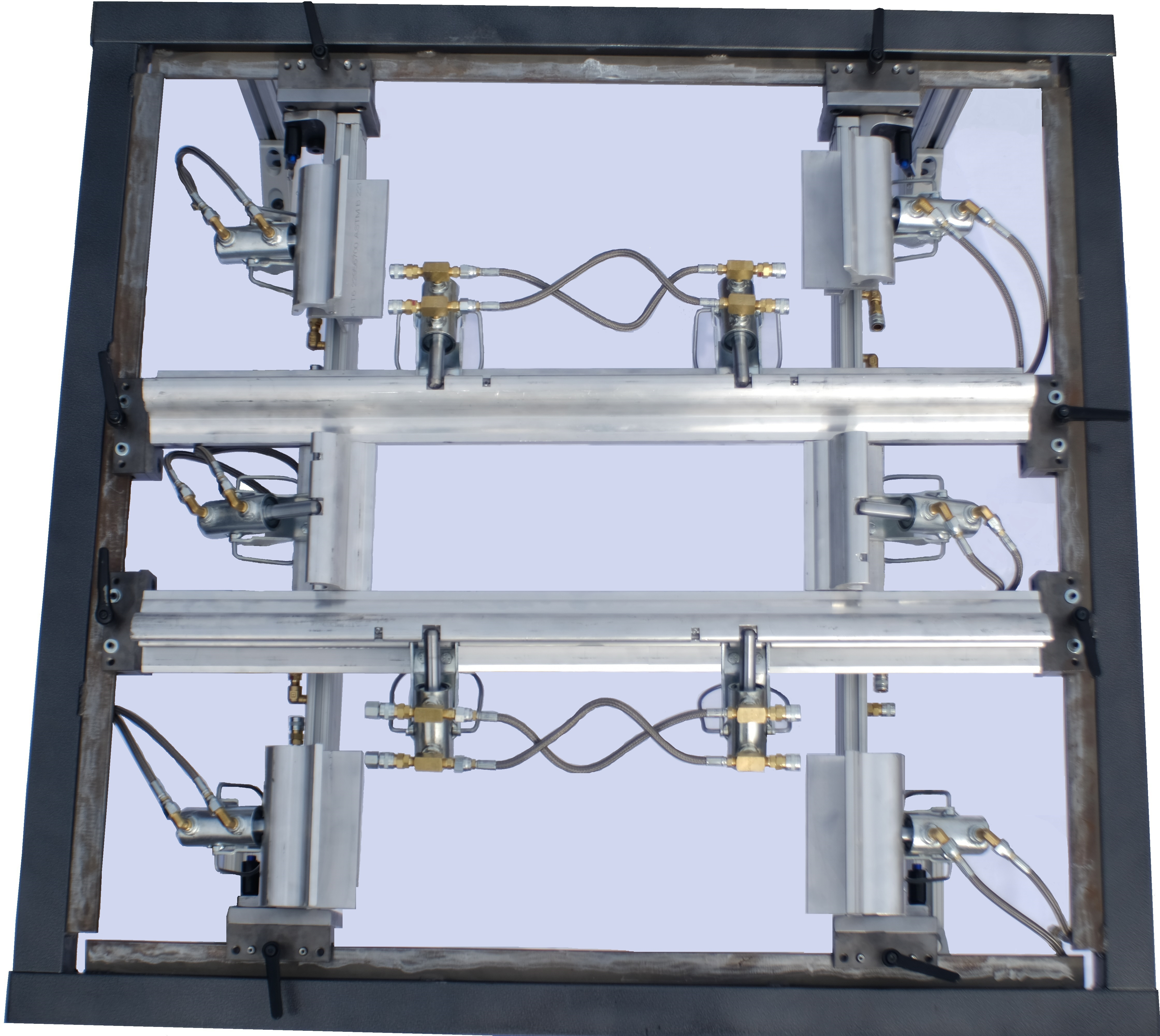 2017 Quick Change Clamp Frame for Smaller Format Machines