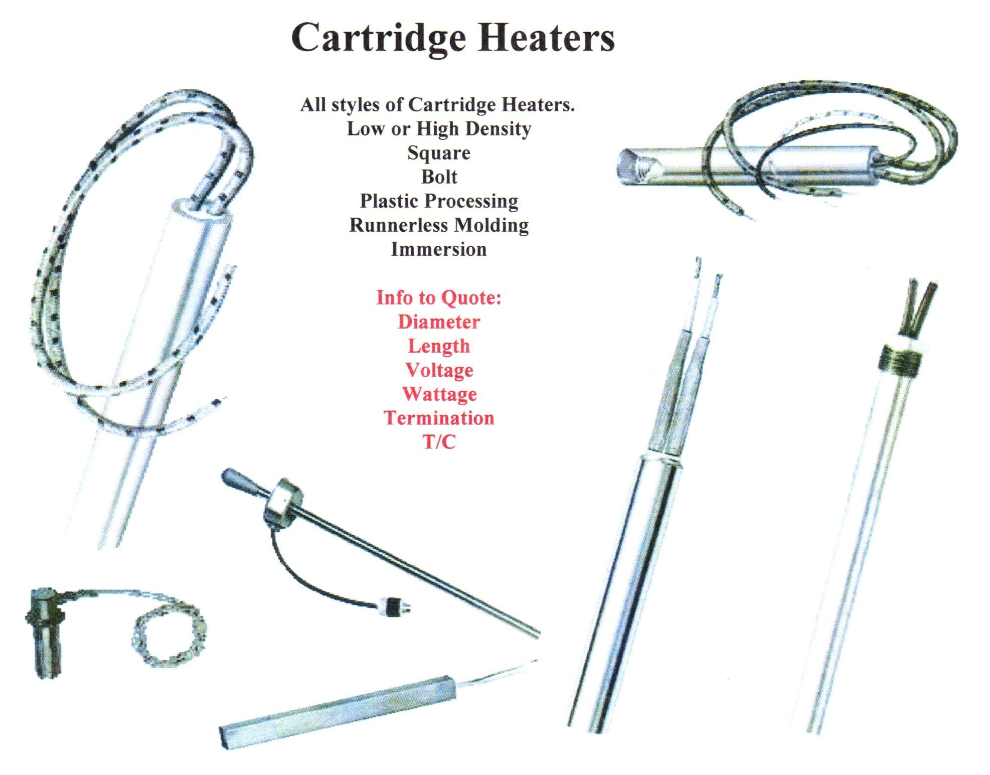 Cartridge Heaters