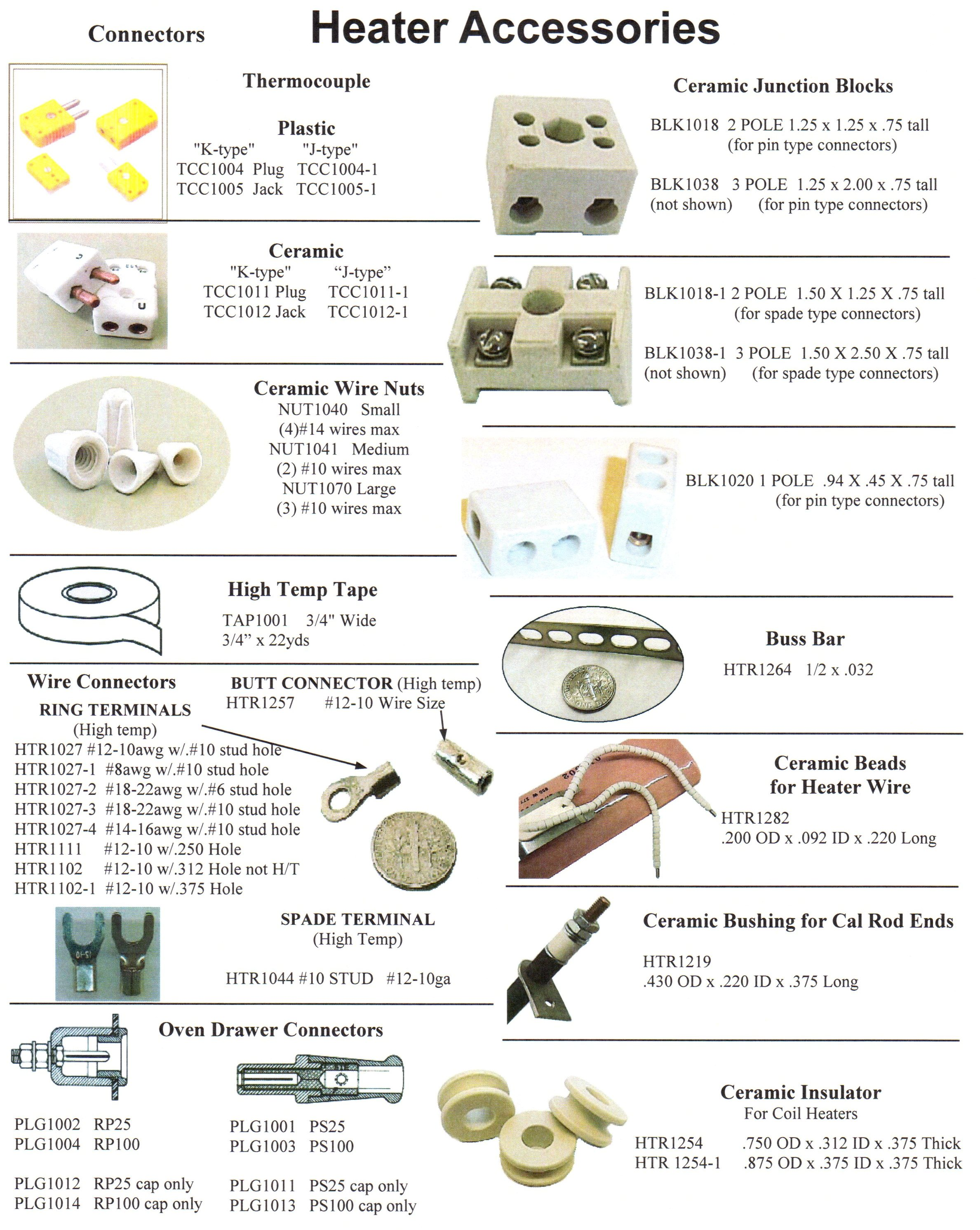 Insulators & Connectors