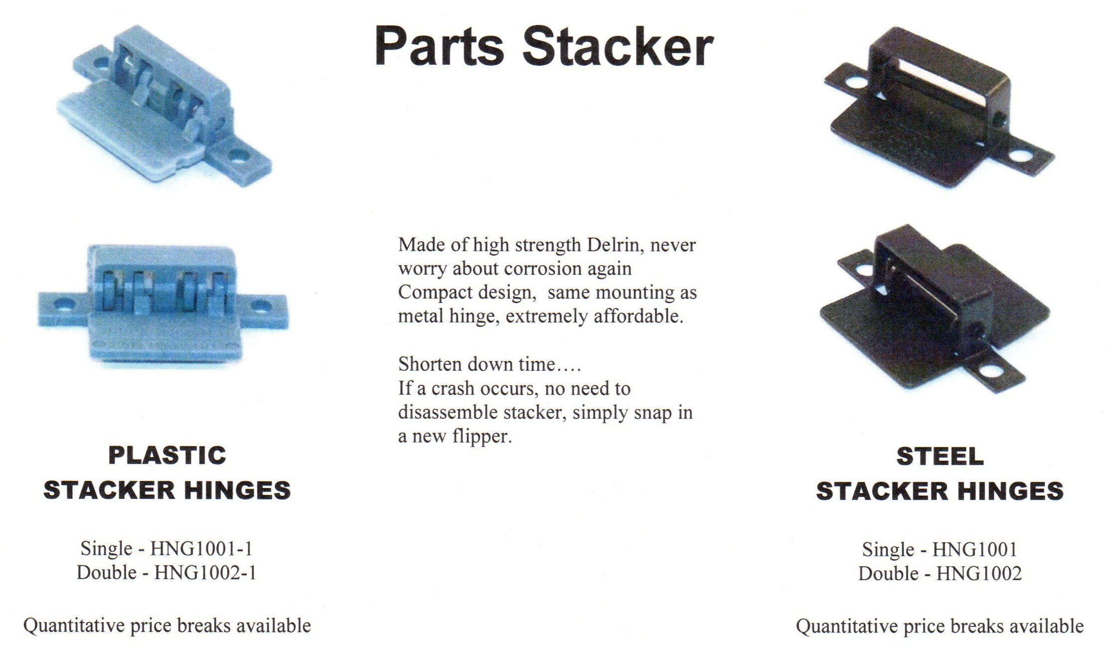 Parts Stacker