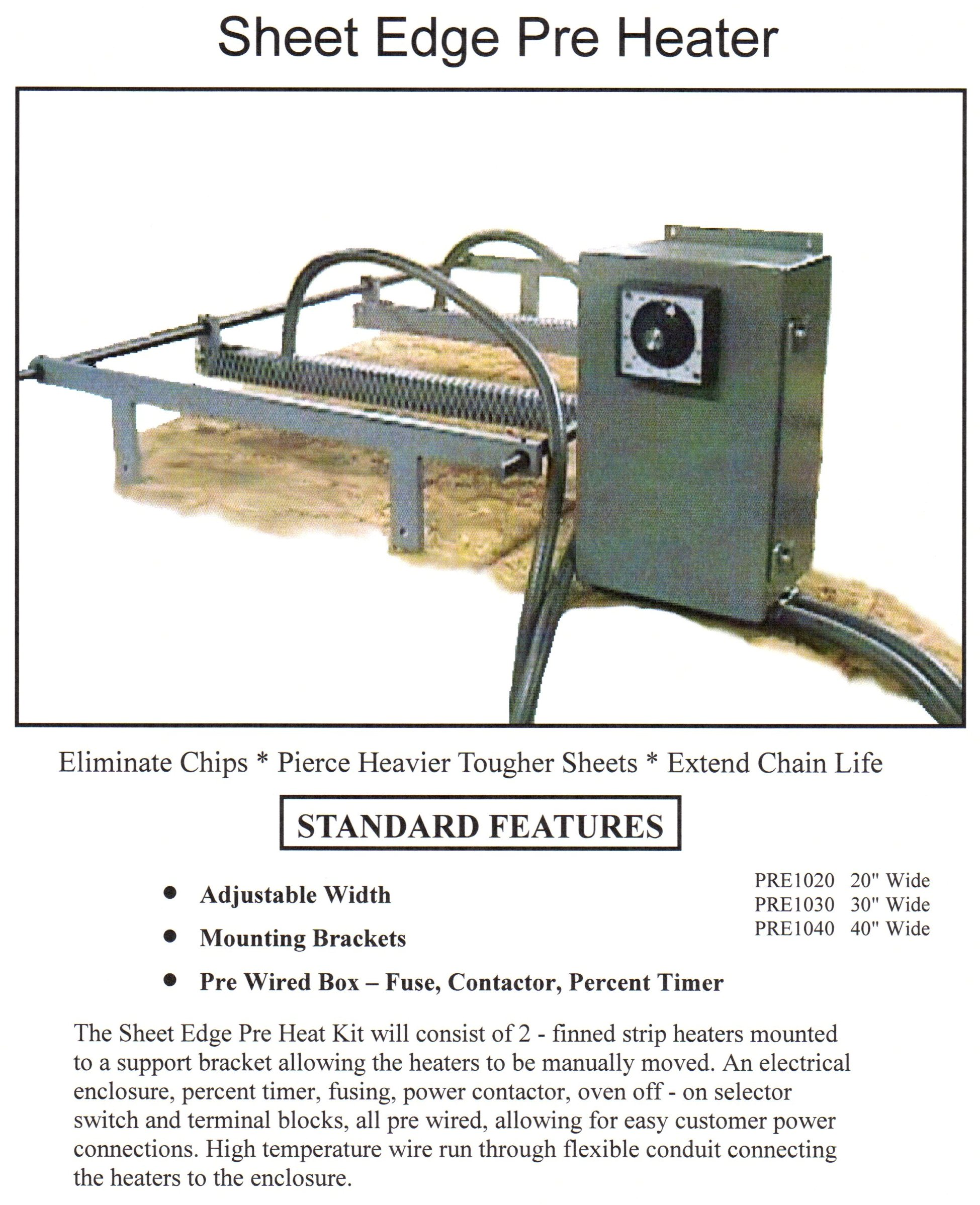 Sheet Edge Heater