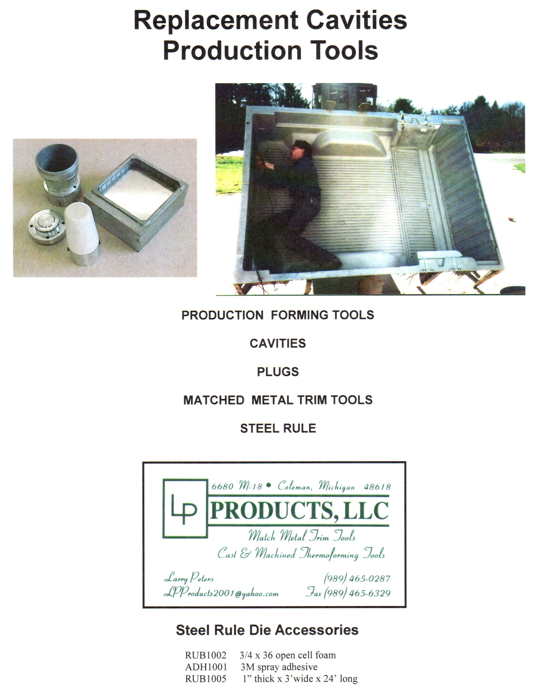 Cavities & Production Tools
