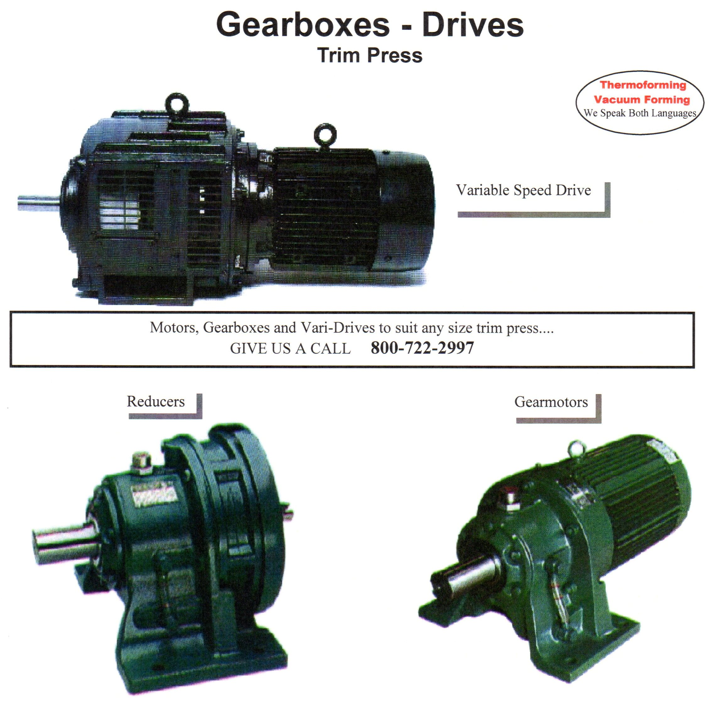 Drives & Gearboxes