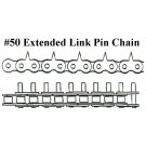 #50, 1.25 CENT, EXT LINK, PIN CHAIN