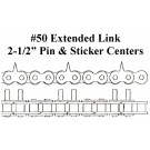 #50 2.5 CENT EXT LINK, BMC 502-00041