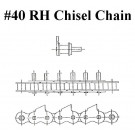 #40 RH 1 CENT CHISEL, PEER