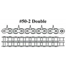 "#50-2, 1.25"" PIN CENTERS, CHAIN 50' LENGTH (IMPORT)"