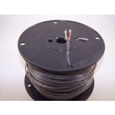 "THERMOCOUPLE WIRE ""K""  W/STAINLESS STEEL OVERBRAID STRANDED"