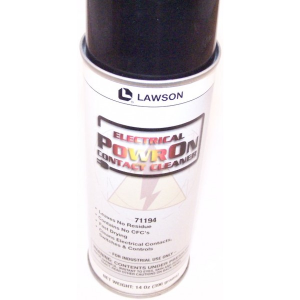 Lawson Power On Contact Cleaner 71194