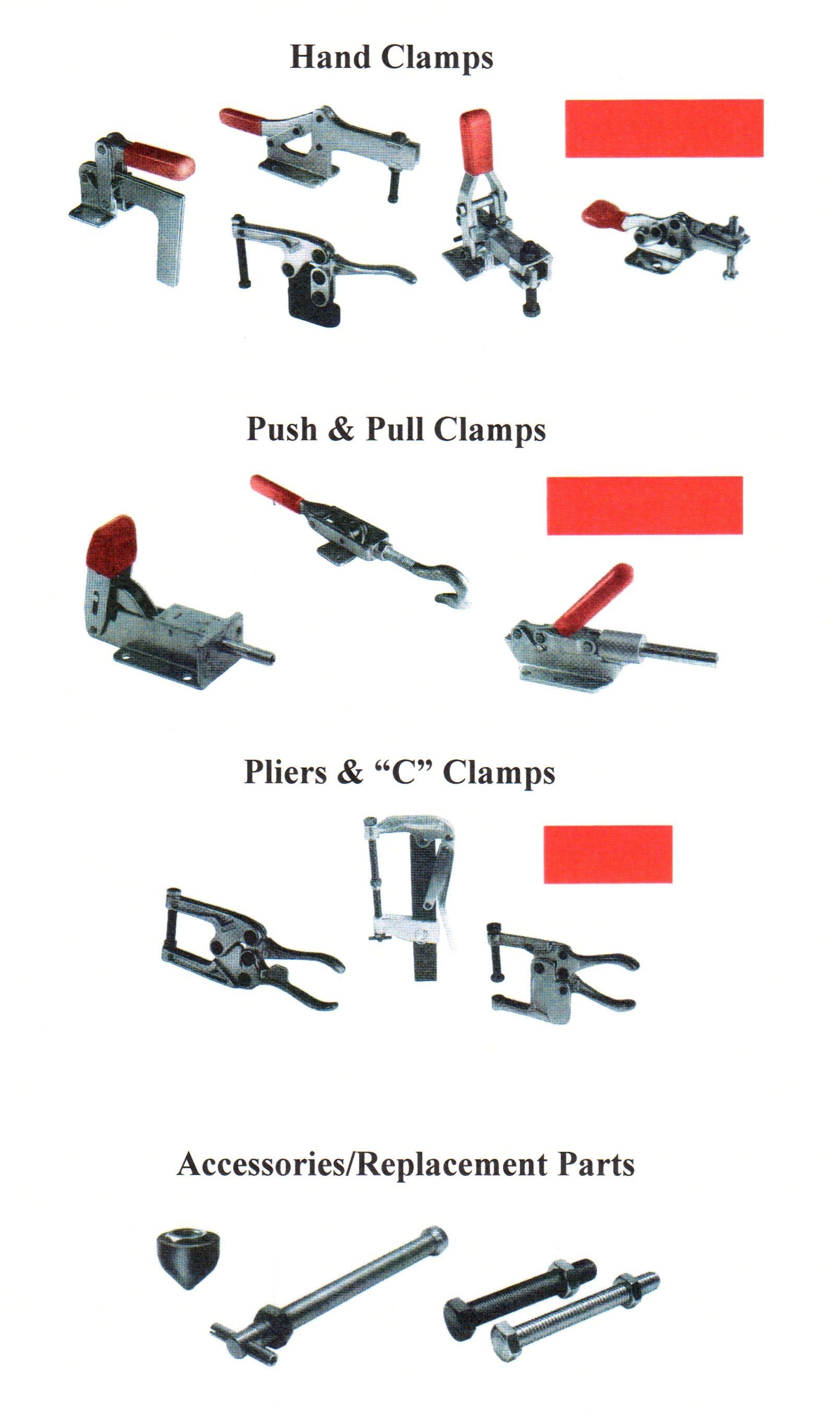 Hand Clamps